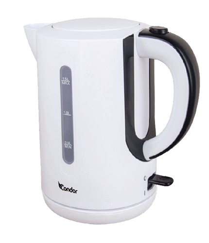 PLASTIC KETTLE 1.7L White